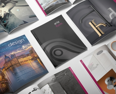 Arte Form Brochure by Arnott Design