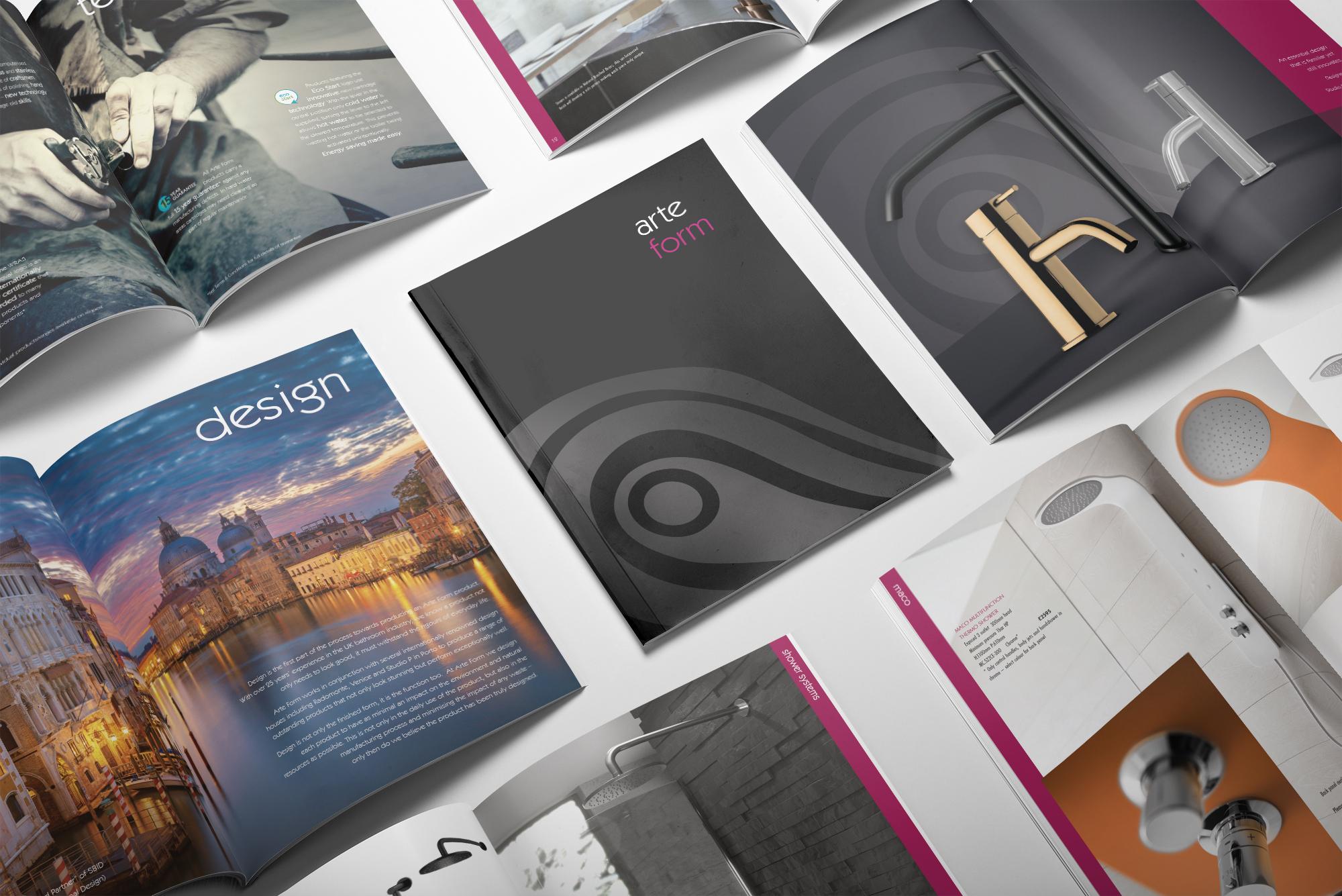 Arte Form Brochure by Arnott Design