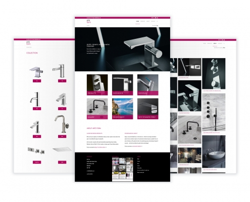 Arte Form website