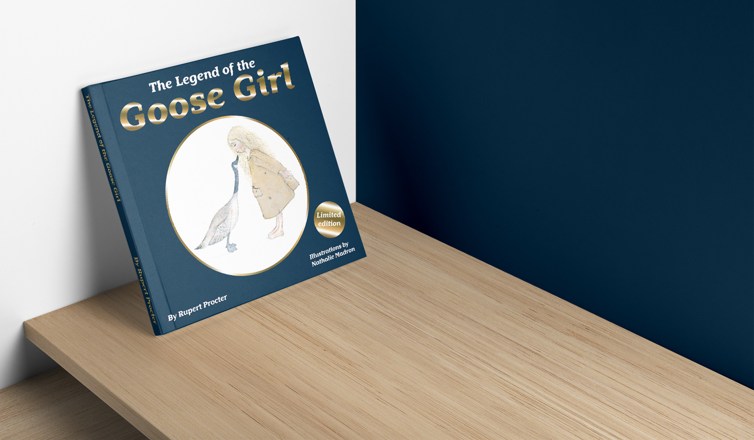 The Legend of the Goose Girl - Book design by Arnott Design