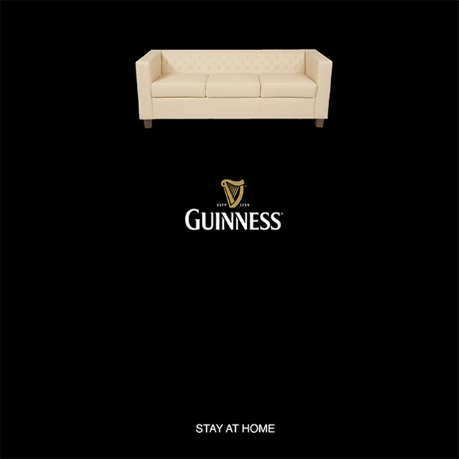 Guiness Stay at Home